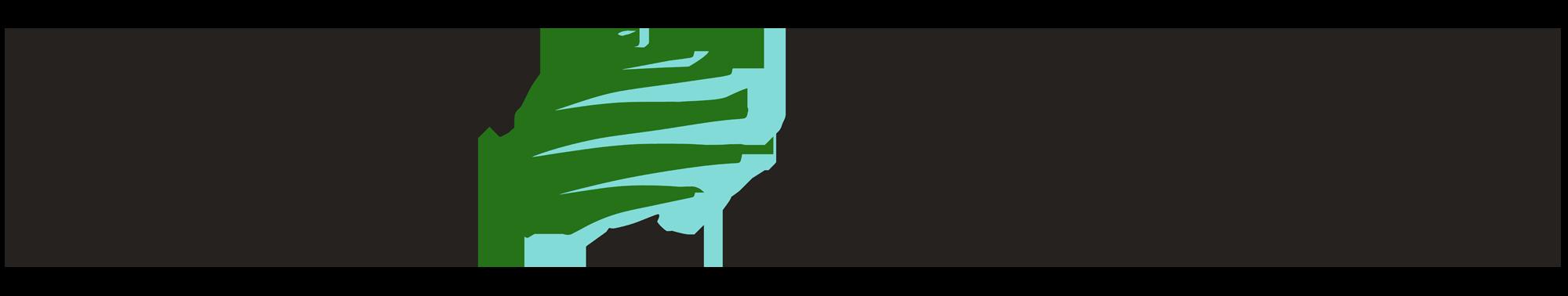 Gecombineerd logo van 020 Tuinen en Muller Garden Life